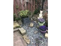 """Free"" Rocks for a garden rockery"