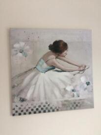 Ballerina Picture 60cm x 60cm