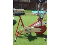 kettler vintage/retro red excercise bike