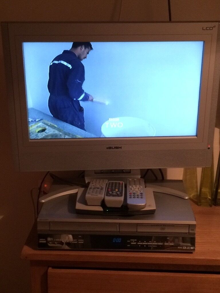TV, DVD & VHS PLAYER WITH DIGI BOX | in Norwich, Norfolk | Gumtree