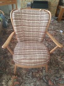 ERCOL Stylish Vintage Lounge chair.