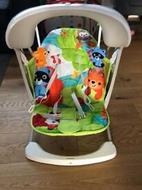 Fisher Price woodland friends swing chair