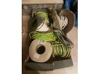 Electrical cables and fittings