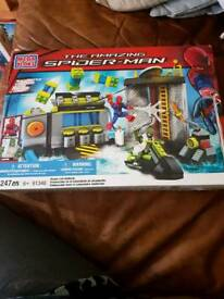 Spiderman Sewer Lab Ambush megablocks