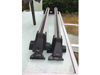 Audi A4 Saloon 2016 on Roof Bars