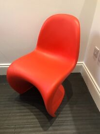 Vitra Verner Panton S Chairs - Genuine Design Classic Chairs for £100 each!