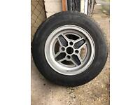 Ford 6J 13 inch alloys to fit Capri, Cortina, Escort, Fiesta