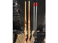 Two Pairs of Stilts For Sale