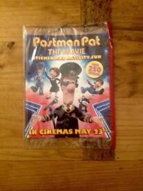 POSTMAN PAT THE MOVIE STICKER AND ACTIVITY FUN BOOK. NEW IN PACKET.