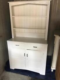 Solid white dresser