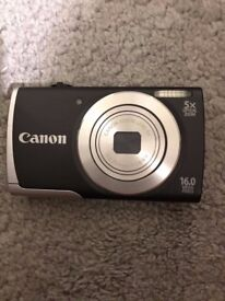 Canon PowerShot A2500 Digital Camera 16 Mega Pixels, 5x Optical Zoom, Charger and 512MB Memory Card