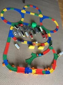 Thomas the tank engine and track