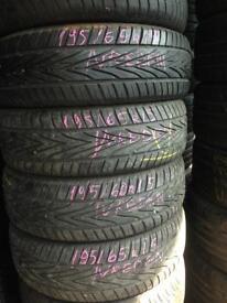 4x195/65/15 Vredenstein tyres