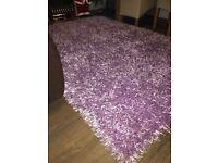 purple nice rug £40