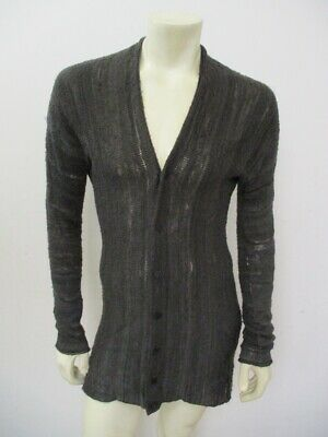 LABEL UNDER CONSTRUCTION Reversible Two Side Cardigan Sweater Size M/L