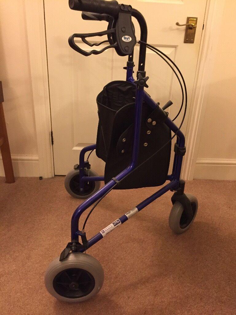3 wheeled Walker - hardly used.