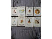 8 Beatrix Potter books