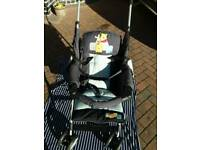 As new Pushchair with bag and instructions