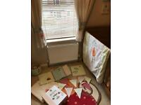Next nursery bedding set curtains