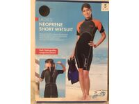 Ladie's PEGASO Diving and Watersports 3mm Neoprene Short Wetsuit size S boxed