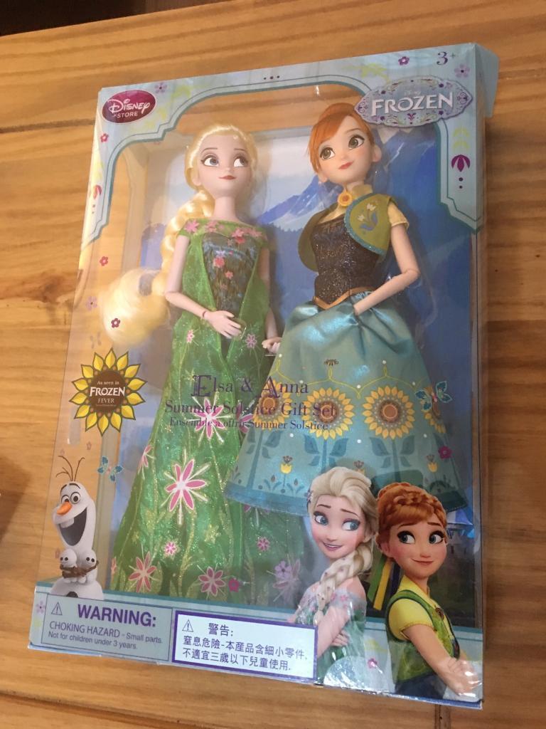 Disney Frozen Elsa & Anna Summer Solstice