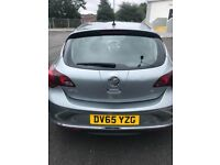 Vauxhall Astra 1.6 2015, low mileage, excellent drive, serviced in April 2018