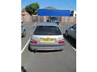 Silver saxo VTR for sale 2001, spares or repair