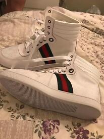 Men's Gucci High Top Trainers Size UK 9 #BARGAIN#
