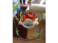 Fisher price jungle jumperoo like new grab bargain
