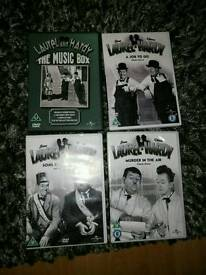 Laurel and Hardy DVD collection