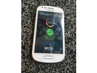 Samsung galaxy S3 mini unlocked.