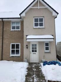 3 bedroom semi detached house for sale in Alford, Aberdeenshire.