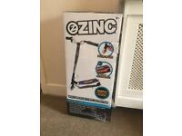Brand new zinc electric scooter unwanted gift