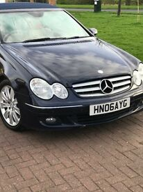 **REDUCED***mercedes Convertable clk 500 2 owner a sat nav full history
