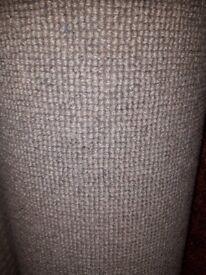 New grey carpet 12 ft 5 ins x 13 ft £110