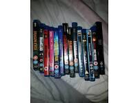 14 blu ray dvds