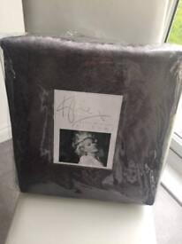 Kylie Minogue bed throw