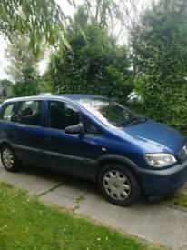 Vauxhall zafira 03 plate