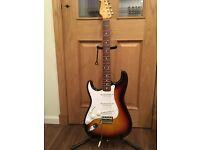 Fender FSR Japan Classic 60s Stratocaster 3 Tone Sunburst Left handed....