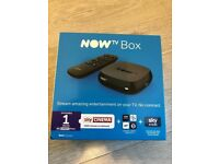 NOW TV Box - brand new sealed! with all included. Make a Smart TV
