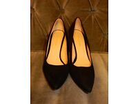 Whistles black suede heels, Size 41, Excellent condition
