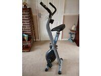 Pro Fitness folding magnetic exercise bike