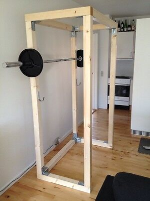 Used, Build Your Own Wood Gym Equipment, Home Gym Plans for Bodybuilding and Fitness for sale  Shipping to Nigeria