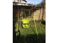 2 in one 1 baby/toddler swing