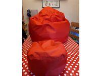 Large bean bag for sale £15 each