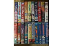 VHS TAPES wide selection of 'U' rated films