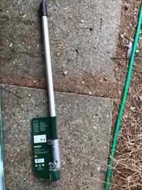 Bosch Green AMW TS Extension Pole Multi Tool and Tree Pruner Attachment