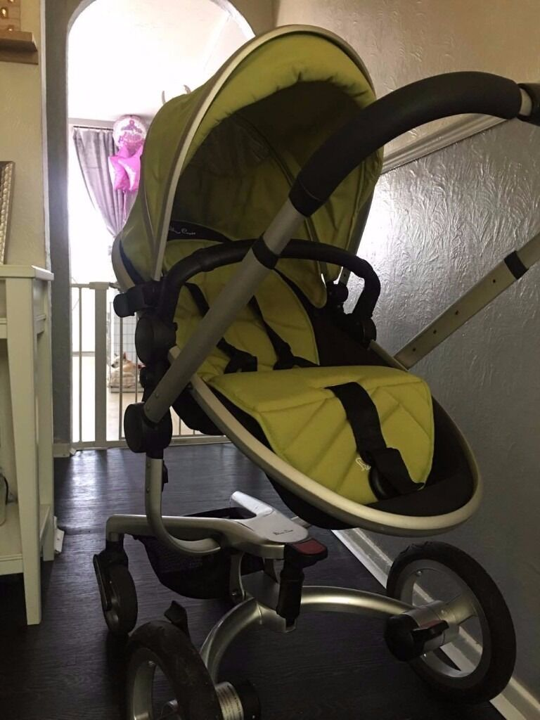 Silver Cross Surf Pram/Pushchair Perfect Condition £100 Ono - 07497339986