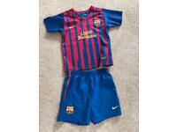 FC Barcelona child's football kit
