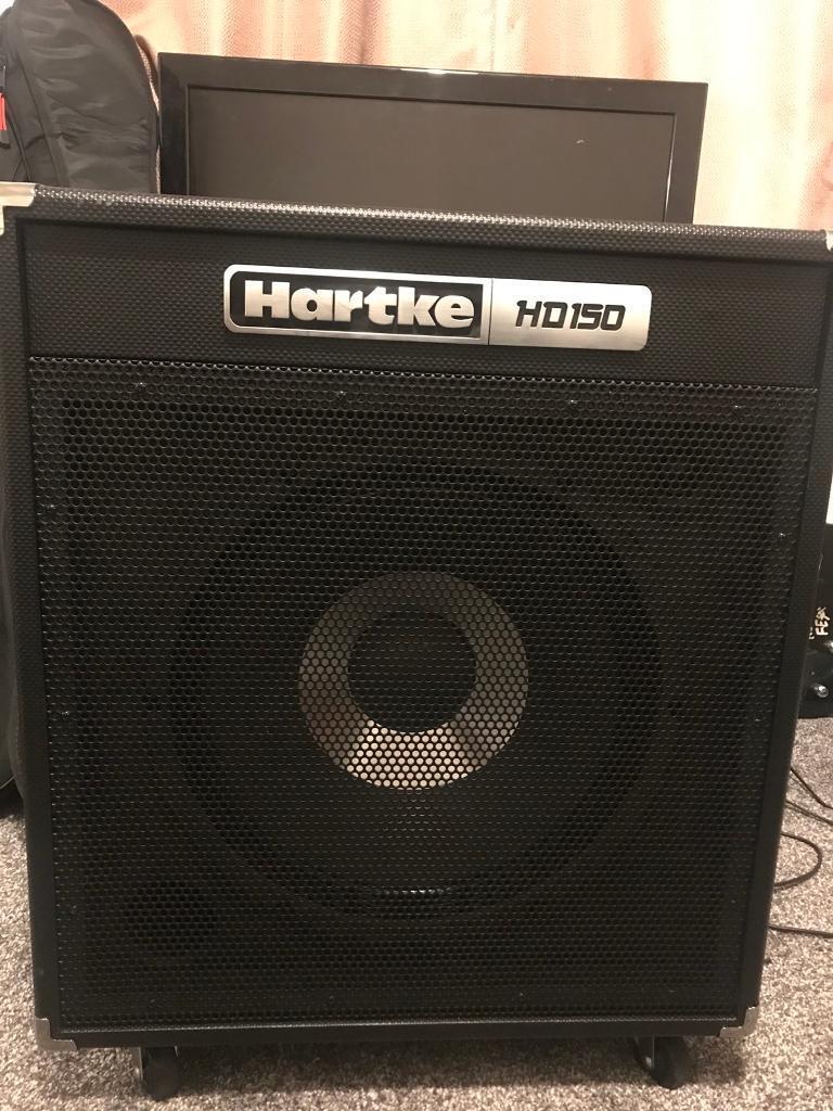 Hartke hd150 bass amp